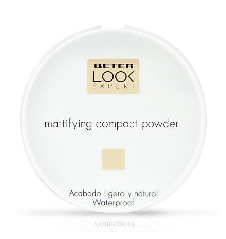 Matifying compact powder