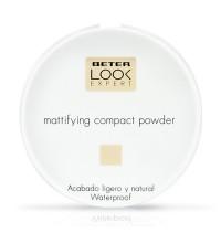 Matifying compact powder