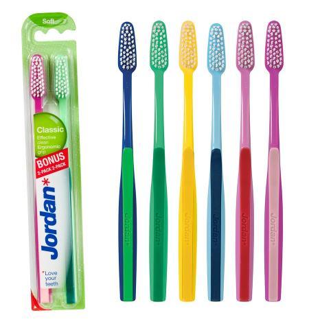 Escova dental classic Suave (pack 2 u)