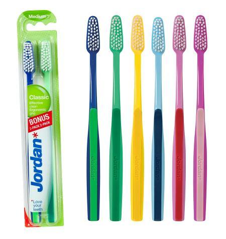 Cepillo dental Classic. Dureza Media (pack 2 u)