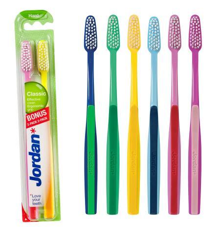 Escova dental Classic. rígido (pack 2 u)