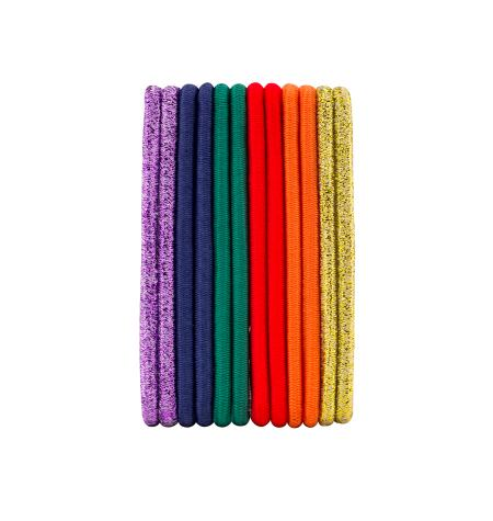 Basic round elastics -12 pcs-
