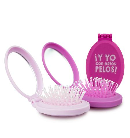 Folding brush with mirror Limited Edition