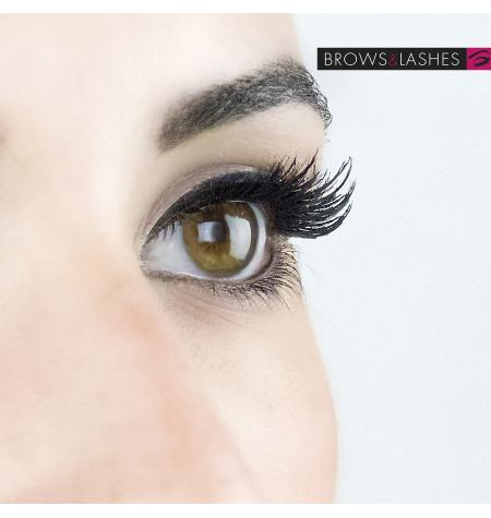 False eyelashes Nº230 Extra volume