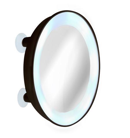 Oooh Flash, espelho macro x10 com luz LED (Com 4 ventosas)
