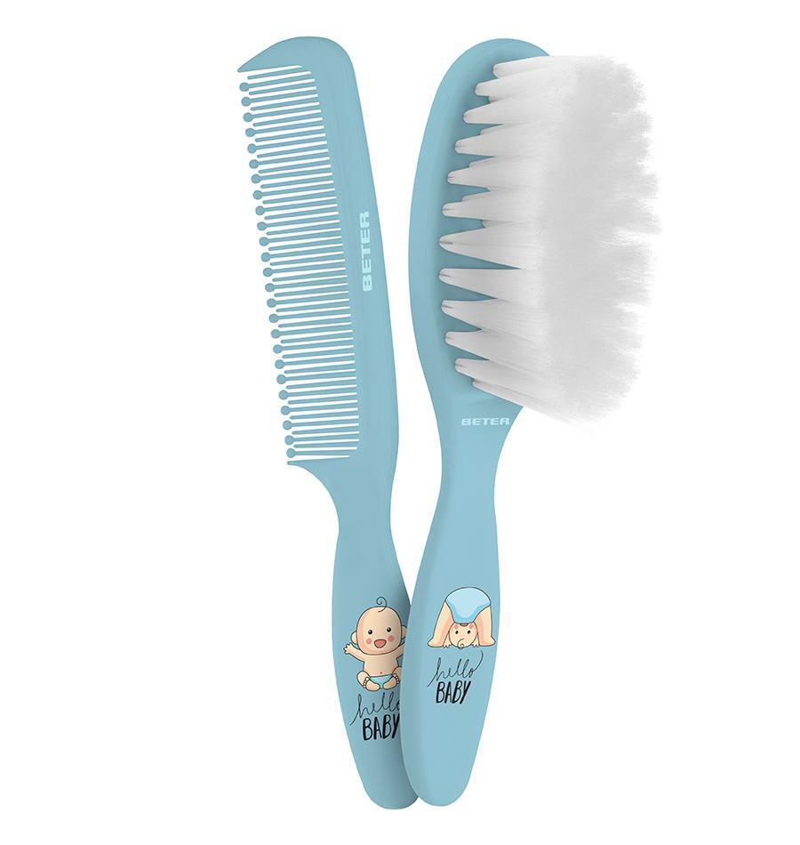 Baby Brush And Comb Set Beter Accesorios Y Cosm 233 Ticos