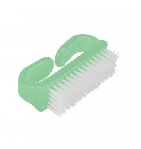 Nail brush, nylon bristles