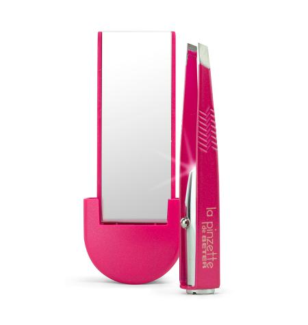 """La pinzette"" tweezer with light and mirror"