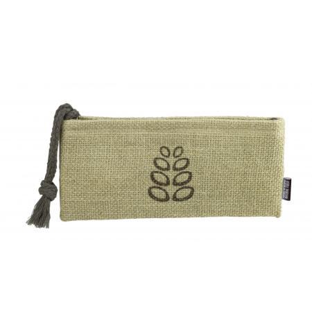 Natural Fiber small cosmetic bag