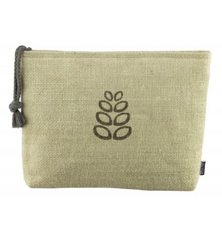 Natural Fiber small cosmetic bag