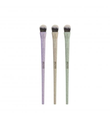 NATURAL FIBER BLENDER EYESHADOW BRUSH