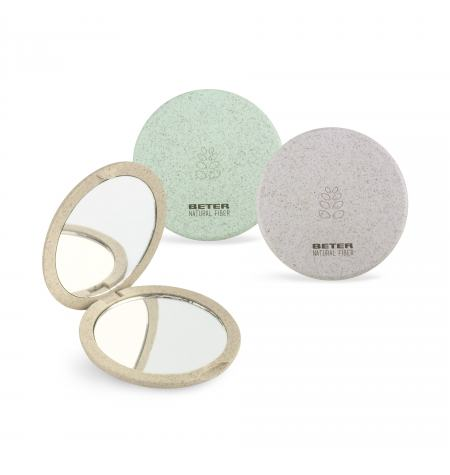 Natural Fiber double mirror X4 magnification