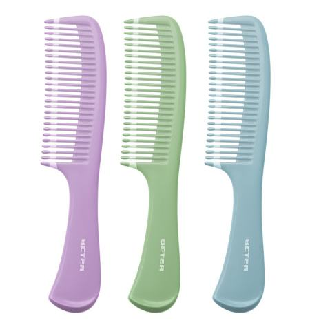 Wide-toothed comb, straight teeth, Fantasía collection