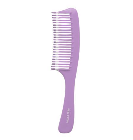 Wide-toothed comb, wavy teeth, Fantasía collection