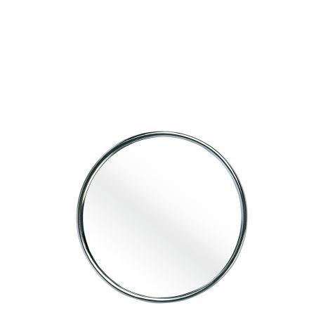 Espelho cromado com ventosa x 10