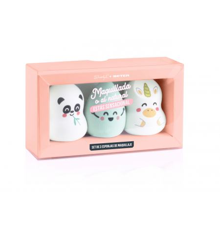 Mr. Wonderful x Beter set of makeup sponges