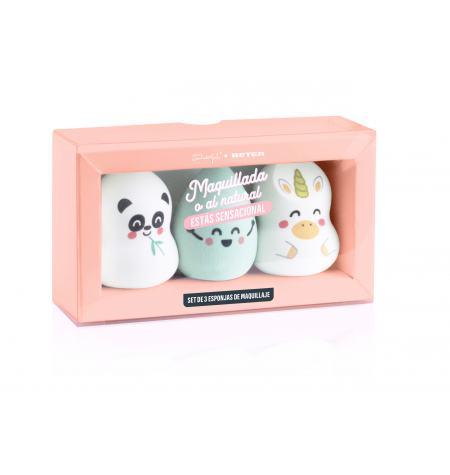 Set de esponjas de maquillaje Mr. Wonderful x Beter