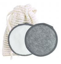 Natural Fiber reusable makeup remover pads