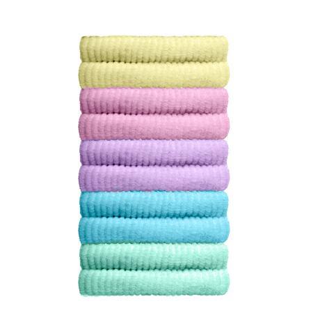 10 Coleteros mini algodão