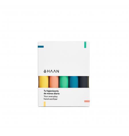 Pack de 5 Haan Pocket: higienizante de manos