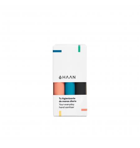 Pack de 3 Haan Pocket: Sunset Fleur, Morning Glory y Wood Night