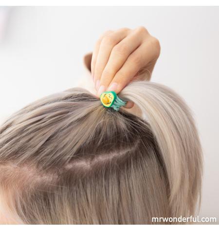Set of 8 hairbands: avocado