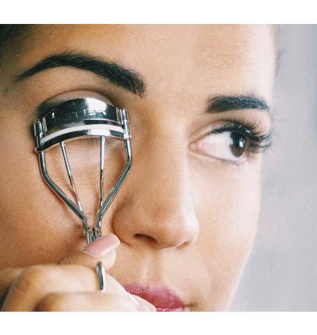 Nickel plated eyelash curler