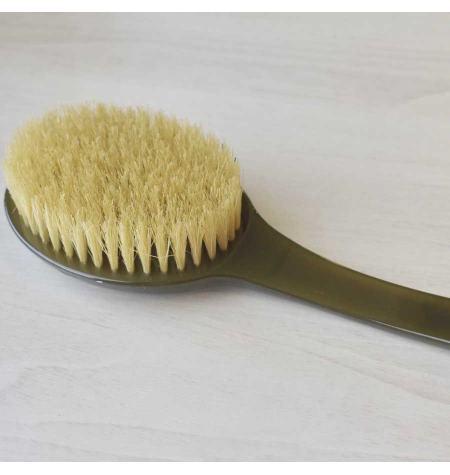 Escova de banho cerdas naturais