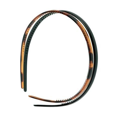 Thin plastic headband -2 pcs-