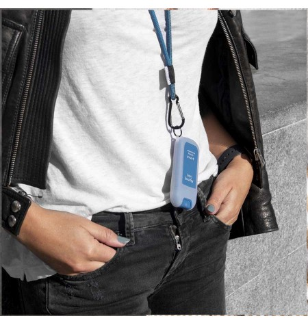 Case and lanyard for Haan Pocket Morning Glory