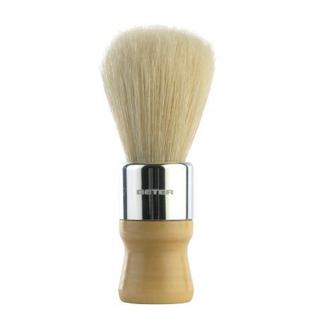 Brocha de afeitar tipo barbero.