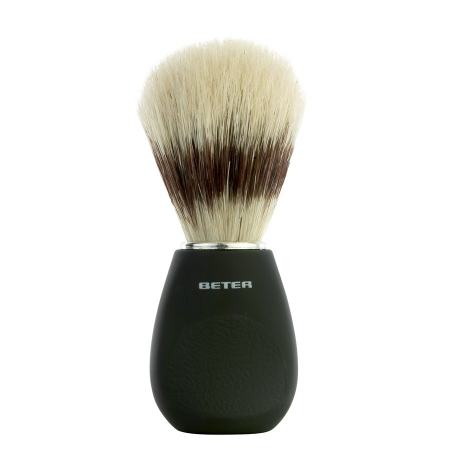 Shaving brush, black handle