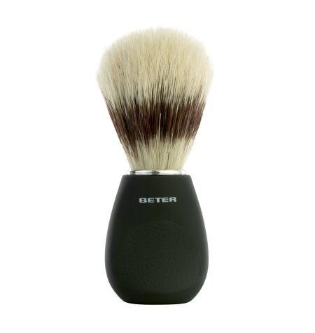 Shaving brush, black handle