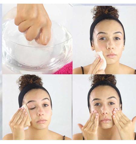 Toalha facial de konjac Mimos