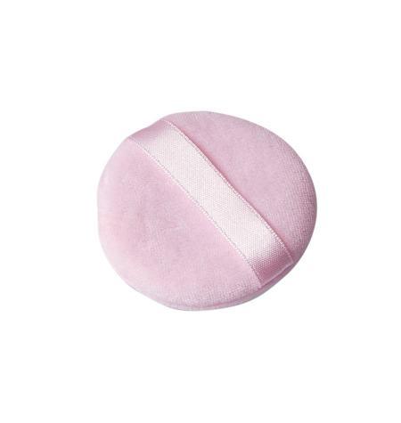 Aplicador cosmético duplo, algodão 6 ,5 cm dia.