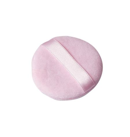 Double cosmetic powder puff, in cotton
