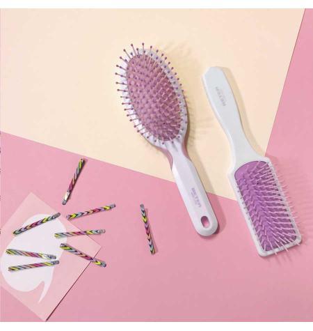 Cushion brush, nylon ball-tip bristles