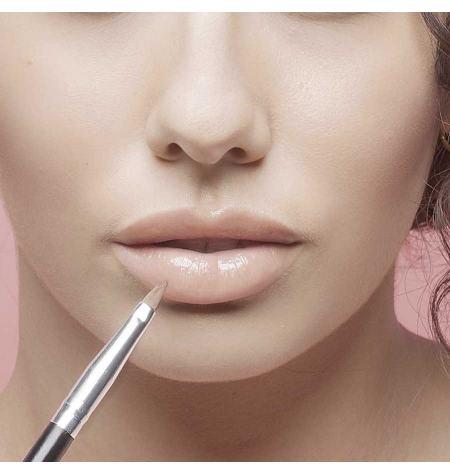 Pincel para lábios cabelo de marta