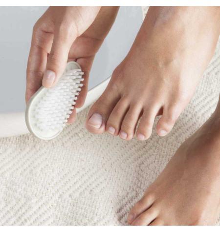 Escova unhas dupla cerdas de nylon