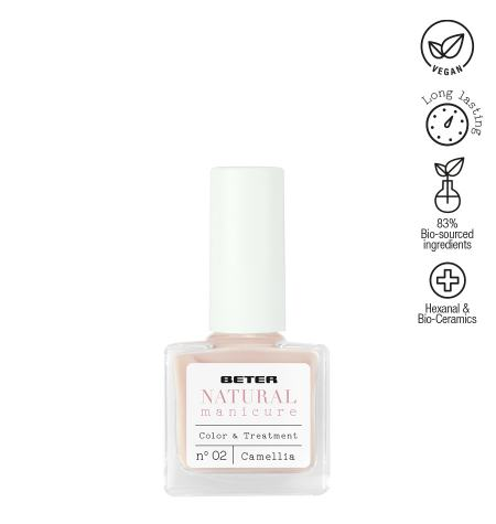 Esmalte fortalecedor Natural Manicure - Camellia