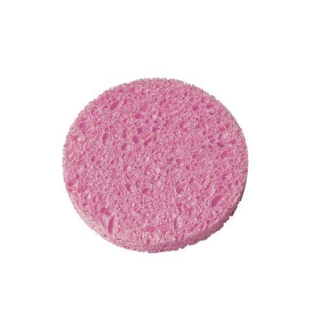 Esponja desmaquilladora, celulosa