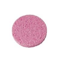 Esponja desmaquilladora, celulose