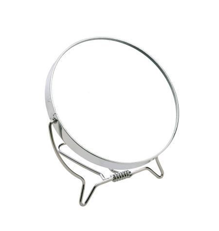 Metal frame mirror, foldable, x3