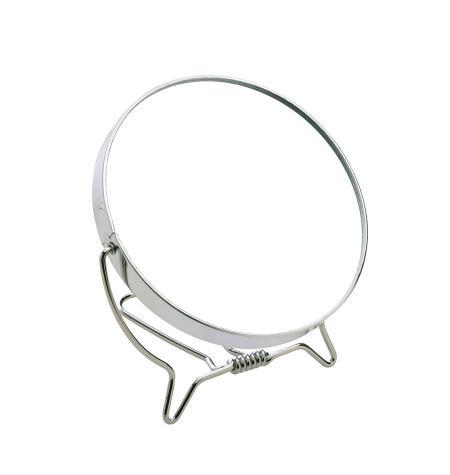 Metal frame mirror, foldable, x3