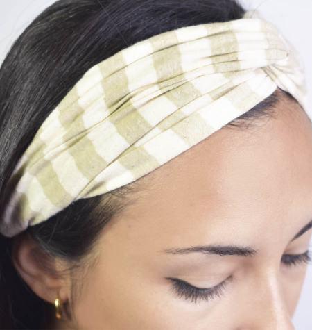 Banda para cabelo Natural Fiber