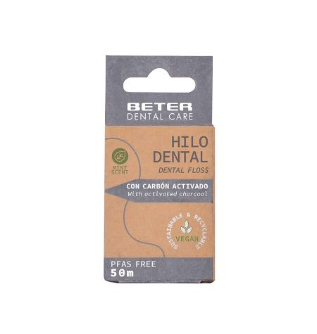 Dental floss with activated charcoal Dental Care