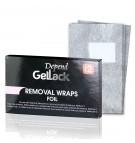 GelLack wraps to remove Gellack polish