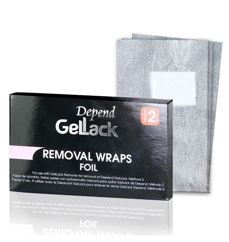 GelLack wraps to remove Gellack polish