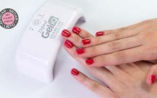 Gellack. Permanent nail polish