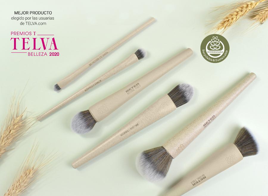 Brochas de maquillaje Natural Fiber Beter biodegradables